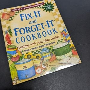 Fix it and forget it!! Cookbook.